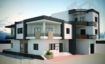 PERS 01- façade maison Tunisie 2021